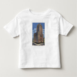 Seattle, Washington - View of Washington Toddler T-shirt
