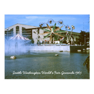 Seattle Washington World's Fair Grounds Postcard