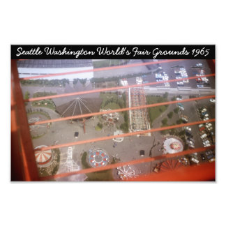 Seattle Washington World's Fair Photograph
