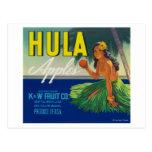 Seattle, WashingtonHula Apple Label Post Cards