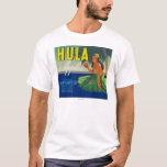 Seattle, WashingtonHula Apple Label T-Shirt