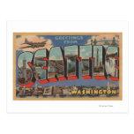 Seattle, WashingtonLarge Letter Scenes 3 Post Cards