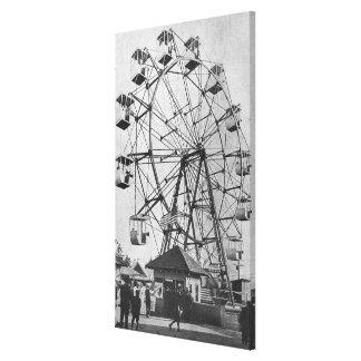 Seattle, WashingtonYukon-Pacific Expo Ferris Canvas Print