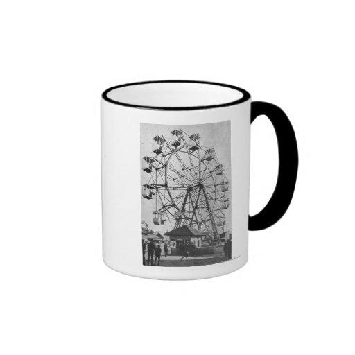 Seattle, WashingtonYukon-Pacific Expo Ferris Coffee Mugs