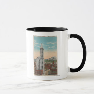 Seattle, WASmith Tower View & Mt. Rainier Mug