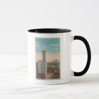 Seattle, WASmith Tower View & Mt. Rainier Mug