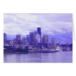 Seattle Waterfront Card