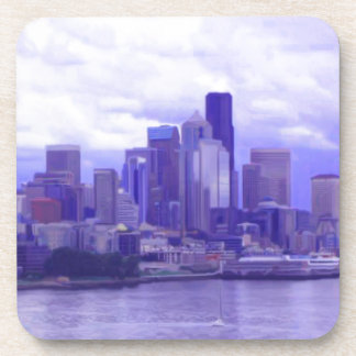 Seattle Waterfront Drink Coasters