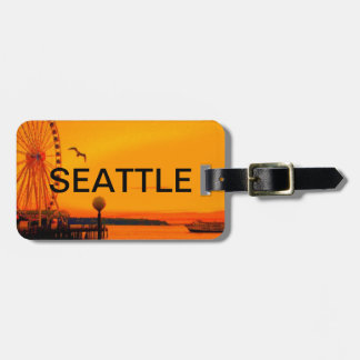 SEATTLE WATERFRONT LUGGAGE TAG