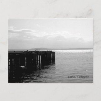 Seattle Waterfront Post Card