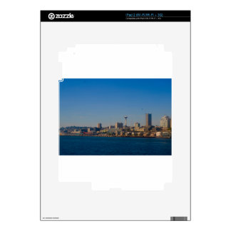 Seattle Waterfront/SpaceNeedle Skin For iPad 2