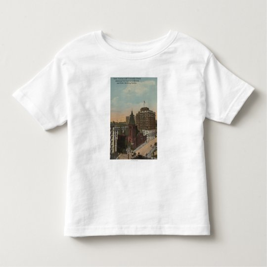 Seattle, WAThird Avenue and University Streets Toddler T-shirt