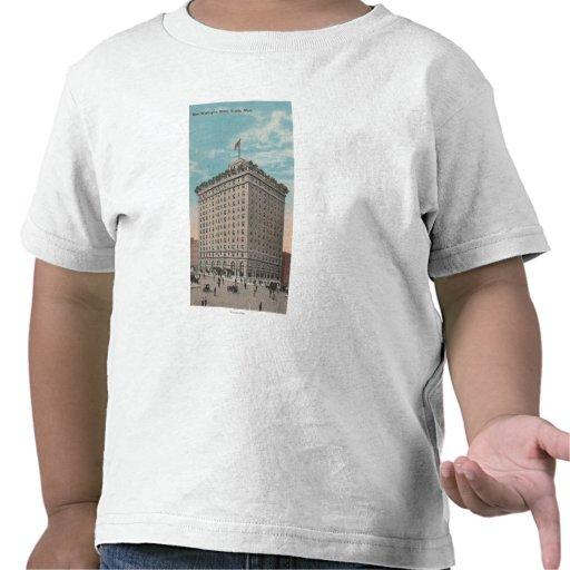 Seattle, WAView del hotel de Washington Camiseta