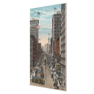 Seattle, WAView of 2nd Ave from Yesler Canvas Print
