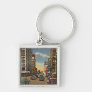 Seattle, WAView of 3rd Ave. & Pike St. Keychain