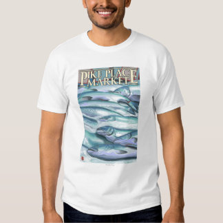 SeattleFish on Ice at Pike Place Market T-Shirt