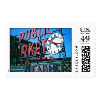Seattle's Public Market Postage Stamp