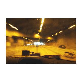 Seattle's Tunnel Ways Canvas Print