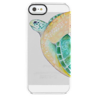 Seaturtle Clear iPhone SE/5/5s Case