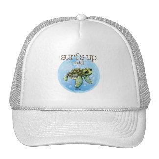 Seaturtle surfer boy hat