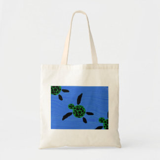 Seaturtles or Sea Turtles Honu Canvas Bag