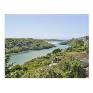Seaview, Gannel, Newquay Postcard