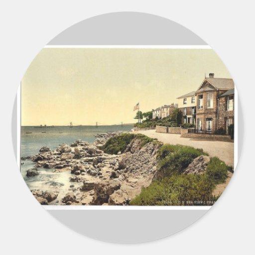 Seaview near Ryde, I., Isle of Wight, England rare Sticker