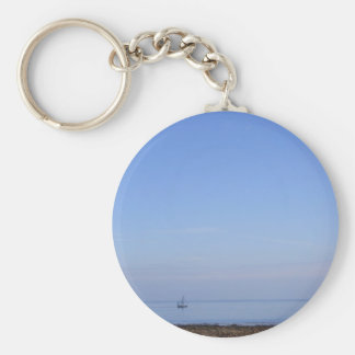 Seaview with Boat Keychain