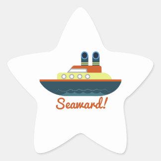 Seaward Pegatina En Forma De Estrella