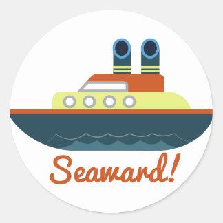 Seaward Pegatina Redonda