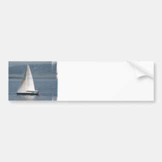 Seaward Sailboat Bumper Stickers