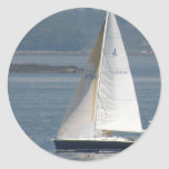 Seaward Sailboat Stickers