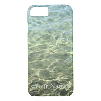 Seawater Beach Personalized iPhone 7 Case