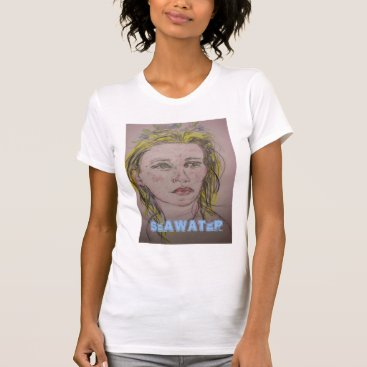 Beach Themed Seawater T-Shirt