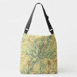 Seaweed Aquatic Pattern Crossbody Bag