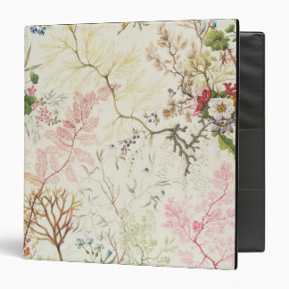 Seaweed design for silk material (w/c on paper) 3 ring binder