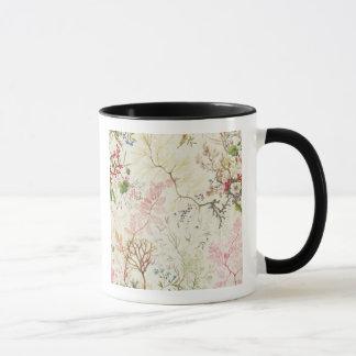 Seaweed design for silk material (w/c on paper) mug