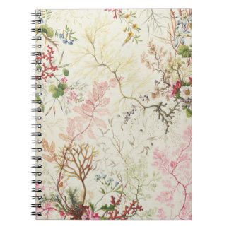 Seaweed design for silk material (w/c on paper) notebook