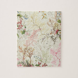 Seaweed design for silk material (w/c on paper) jigsaw puzzle