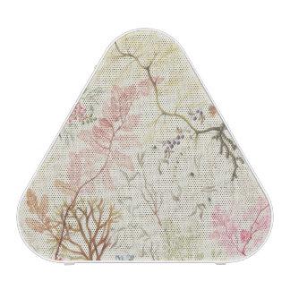 Seaweed design for silk material (w/c on paper) speaker