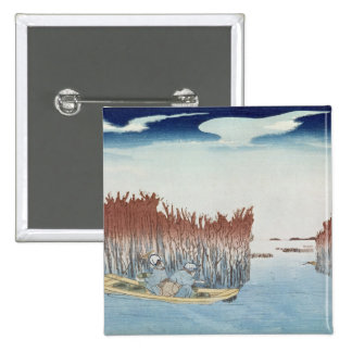 Seaweed Gatherers at Omari, from the series Pinback Button