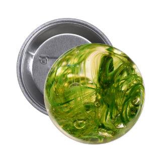 Seaweed Globe Pinback Button
