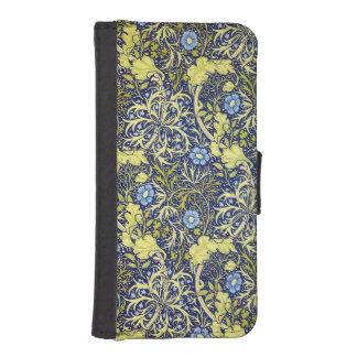 Seaweed vintage wallet case phone wallet case