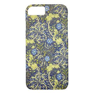 Seaweed vintage william morris iPhone 7 case