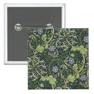 Seaweed Wallpaper Design, printed by John Henry De Button