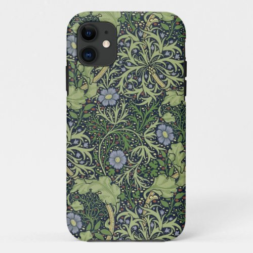 Seaweed Wallpaper Design, printed by John Henry De Phone Case