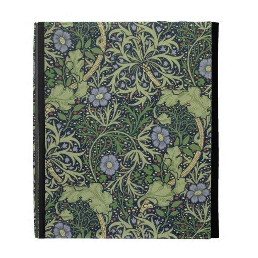 Seaweed Wallpaper Design, printed by John Henry De iPad Folio Cover