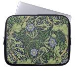 Seaweed Wallpaper Design, printed by John Henry De Laptop Sleeve