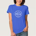 Sebago Lake Maine Personalized Town and Name Tee Shirt