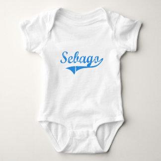 Sebago Maine Classic Design Baby Bodysuit